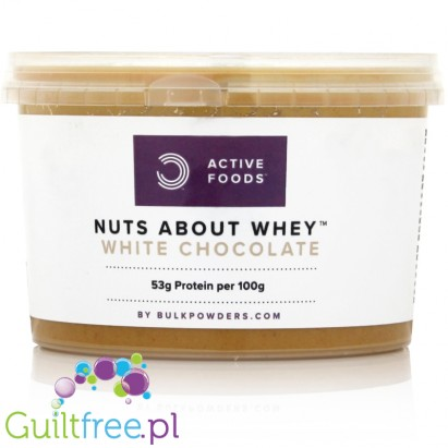 Bulk Powders Nuts About Whey White Chocolate