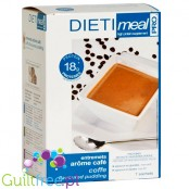 Dieti MealEntremets arôme cafe - high-protein pudding with a coffee flavor