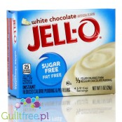 Jell-O White Chocolate low fat sugar free pudding, White Chocolate flavor