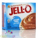 Jell-O Butterscotch low fat sugar free pudding, Butterscotch flavor