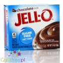 Jell-O low fat sugar free pudding, Chocolate flavor