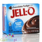 Jell-O Chocolate Fudge low fat sugar free pudding, Chocolate Fudge flavor