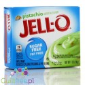 Jell-O Pistachio low fat sugar free pudding, Pstachio flavor