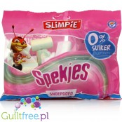 Slimpie Spekkies suikervrije spekjes - foam type marshmallow sugar, sugar-containing sweeteners