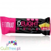FitMiss Delight Baked High Protein Bar, Lemon