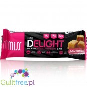 FitMiss Delight Baked High Protein Bar, Salted Caramel