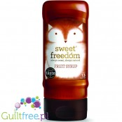 Sweet Freedom Original Fruit Syrup - a sweetening syrup based on fruit extracts without added sugar