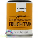 Xucker Xummi chewing gum without sugar sweetened with xylitol with a fruit flavor