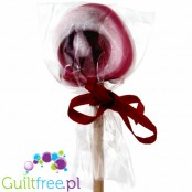 Santini sweet sugar lollipop sweetened with cherry xylitol