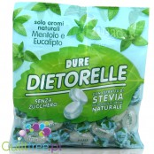 Dietorelle gluten free stuffed with mint and eucalyptus flavored with natural aromas