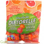 Dietorelle gluten-free orange and pink grapefruit gel jelly