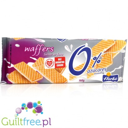 Florbu wafer waffles flavored with vanilla-cream flavor