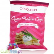 GymQueen Protein Chips Sour Cream & Onion