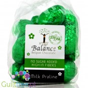 Balance Easter Stevia Milk praline, no sugar added Belgian chocolates
