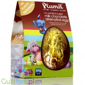Plamil no added sugar milk chocolate alternative egg with xylitol