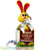 Plamil no added sugar milk chocolate half-eggs with xylitol