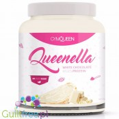 GymQueen Quenella White Kisses White Chocolate Coconut Protein Spread no added sugar