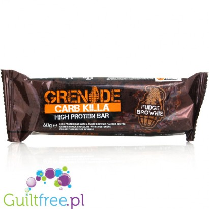 Grenade Carb Killa Fudge Brownie Flavor