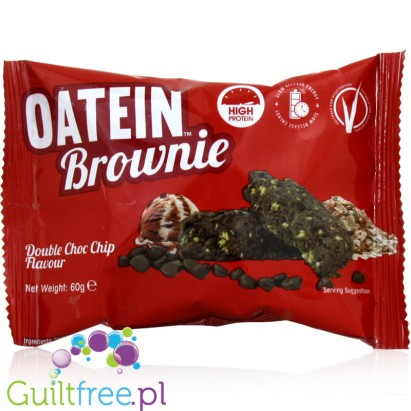 Oatein High protein Brownie Double Chocolate Chip