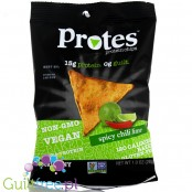 ProTings Spicy Chilli Lime crisps with protein