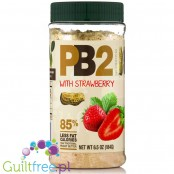 PB2 Powdered Peanut Butter with strawberry - 85% skimmed peanut butter powder with strawberries
