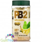 PB2 Powdered Peanut Butter with banana - 85% skimmed peanut butter with banana