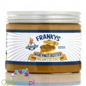 Franky's Bakery Wheynut Butter Dream Coconut - coconut-flavored peanut butter with no sugar added, contains sweetening substance