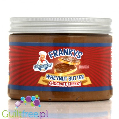Franky's Bakery Wheynut Butter Chocolate & Cherry - chocolate-enriched peanut butter with chocolate-cherry flavor, no added suga
