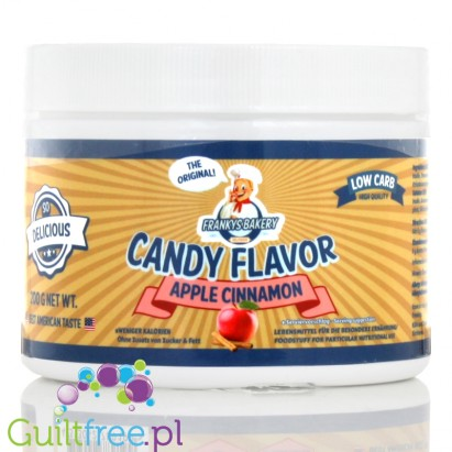 Franky's Bakery Candy Flavor Powdered Food Flavoring, Apple & Cinnamon