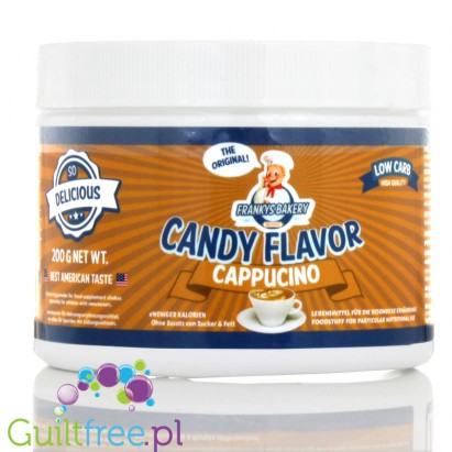Franky's Bakery Candy Flavor Powdered Food Flavoring, Cappucino