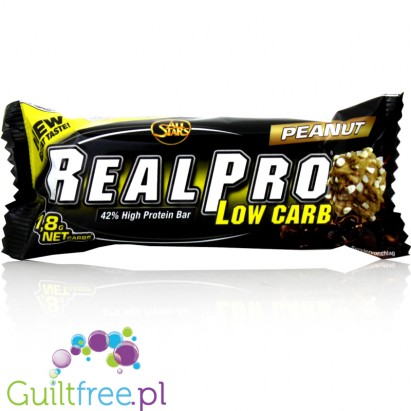 Real Pro Low Carb Bar Peanut
