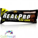All Stars Real Pro Low Carb Bar, Czekolada, baton 42% białka