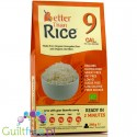 Bettern than Rice organic konnyaku & organic oat fiber - Organic konjac shirataki pasta in the shape of rice enriched