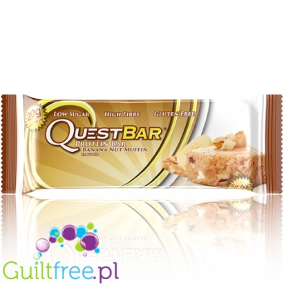 Quest Bar Protein Bar Banana Nut Muffin flavored