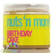Nuts' n More Birthday Cake Peanut Butter with Whey Protein
