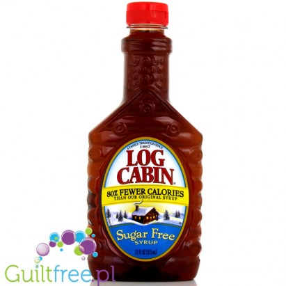 Log Cabin Sugar Free Low Calorie Syrup Maple Flavor