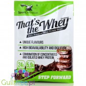 Sports Definition That's The Whey Chocolate 100% premium whey protein blend