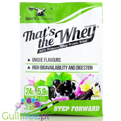 Sport Definition That's The Whey Black Currant Vanilla