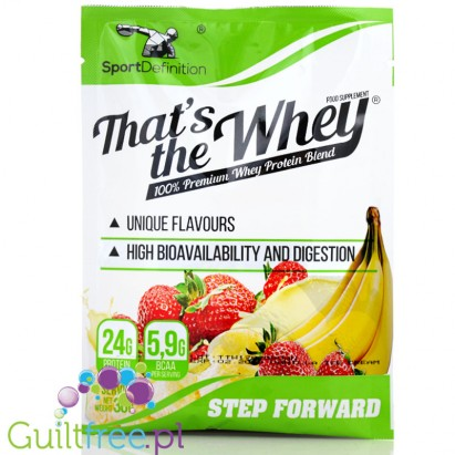 Sport Definition That's The Whey Strawberry Banana