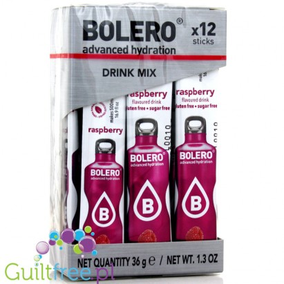 BOLERO STICKS Instant Drink / MALINA