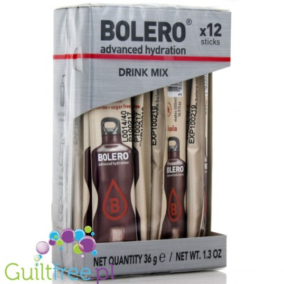 BOLERO STICKS Instant Drink / COLA