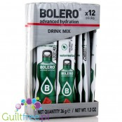 Bolero Sticks Stevia Watermelon, instant drink, 12 sachets