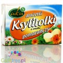 Powdered orange powder pastes with acerola extract, sugar-free, xylitol