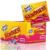 Starburst Juicy Fruit Strawberry sugar free chewing gum