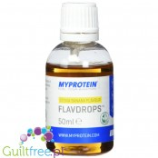 MyProtein Flavdrops liquid flavoring natural banana flavor with stevia extract