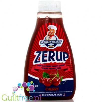Zerup Franky's Bakery 425ml Cherry