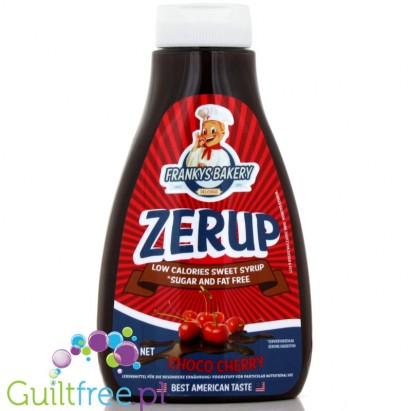Zerup Franky's Bakery 425ml Chocolate Cherry