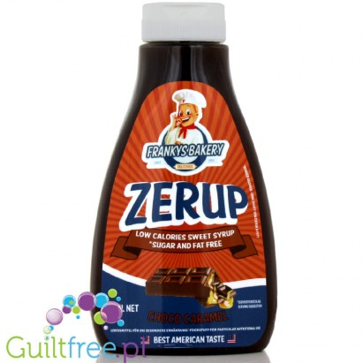 Zerup Franky's Bakery 425ml  Chocolate Caramel