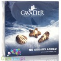 Cavalier Belgian Chocolatier no sugar added milk chocolate sea shells