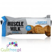 Muscle Milk Peanut Butter Cookie flavor high protein bar